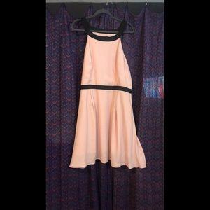 Jack by BB Dakota Pink Dress with Black Bow Sz 20